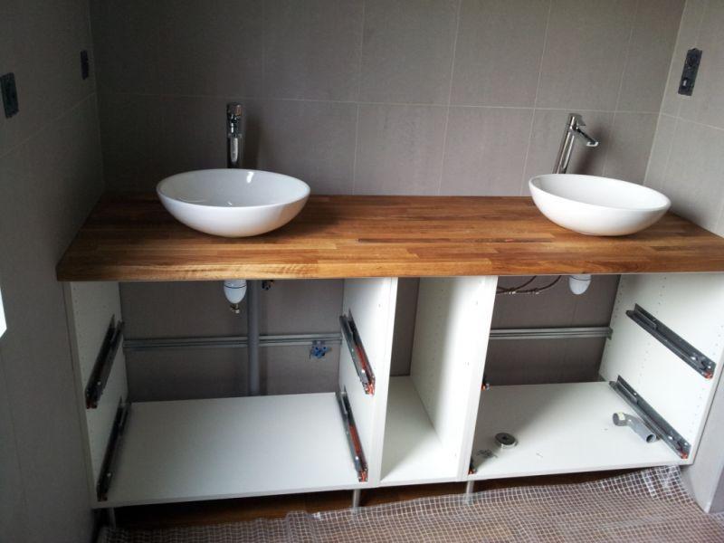 meuble salle de bain 2m de long